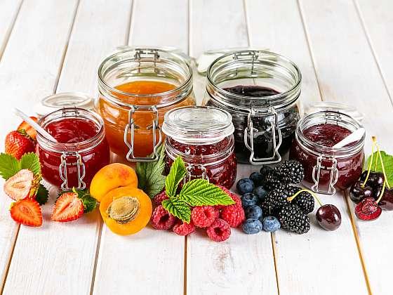 Zimní džemy a marmelády, to jsou vitamíny ve skleničce (Zdroj: Depositphotos (https://cz.depositphotos.com)
