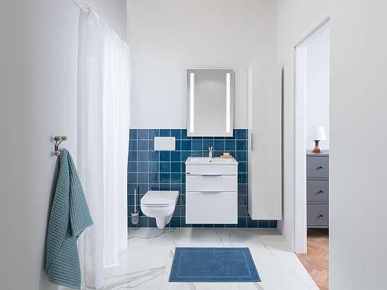 Elegantní koupelnový nábytek Deep by JIKA se hodí do každé koupelny (Zdroj: Koupelny JIKA)