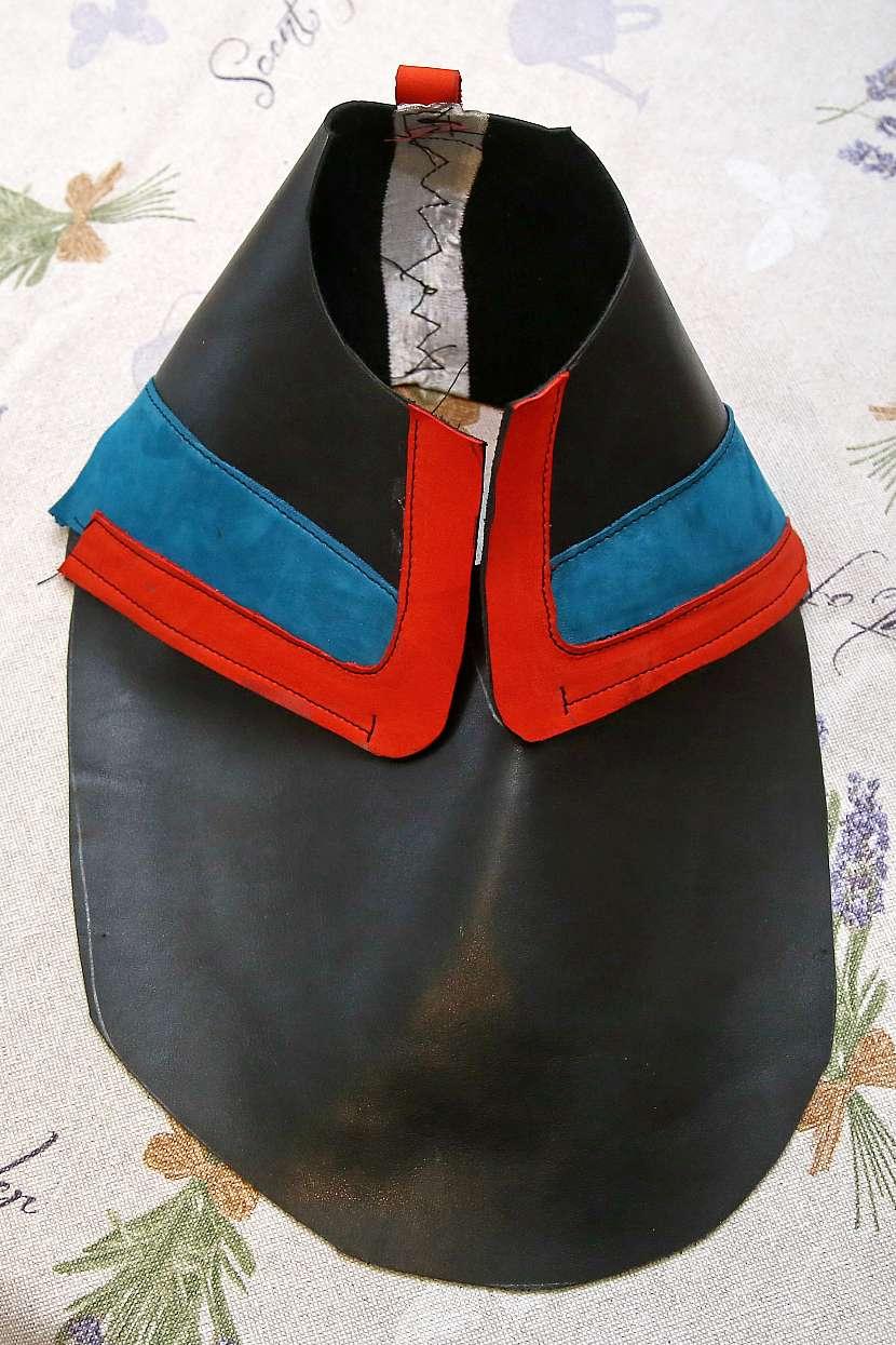Ukázka základní části boty