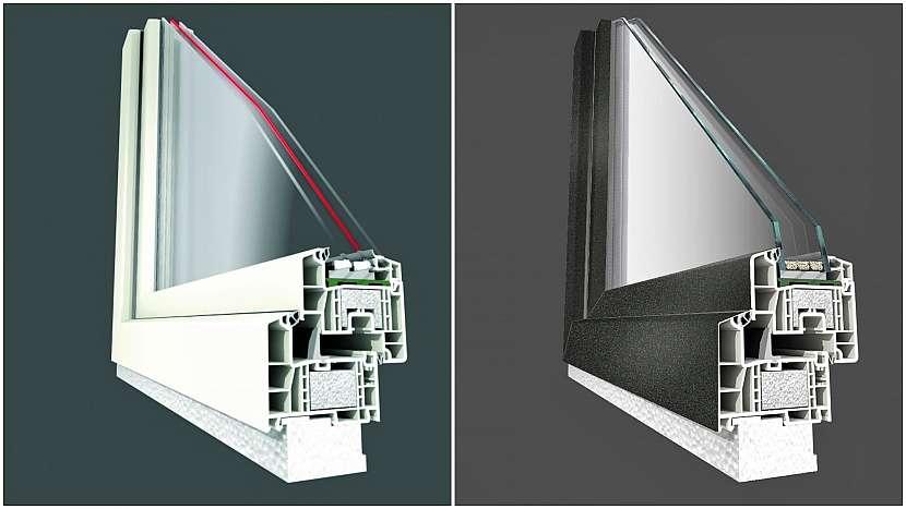 Ticho léčí: díky vhodné kombinaci materiálů a rámové konstrukce dovedou plastová okna utlumit hluk