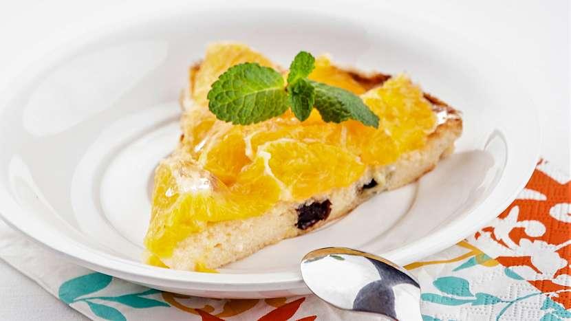 Recept na božský dort z ricotty s citrusy v želé