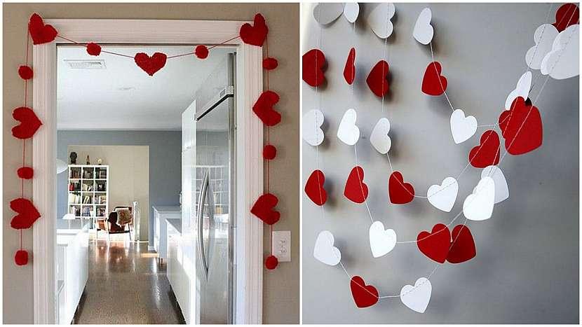 Valentýnské drobnosti: jednoduché řetězy