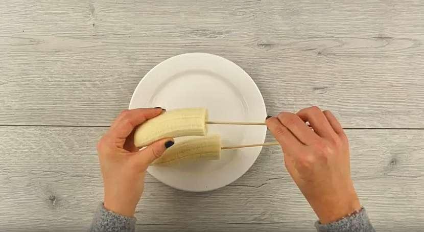 Připravte banán