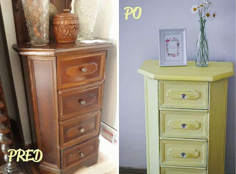 Renovace před a po