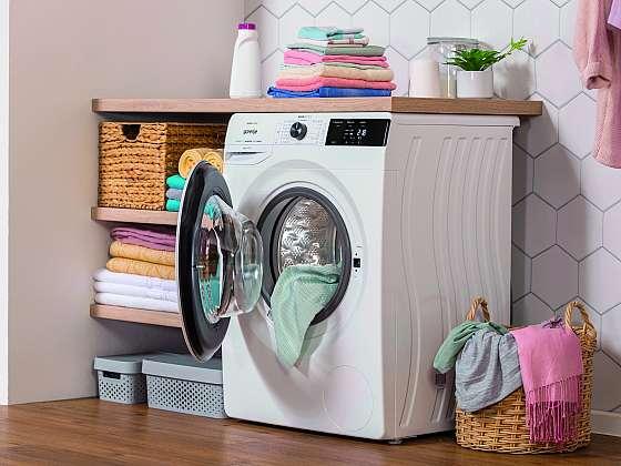 Nejčastější chyby, které děláme při praní (Zdroj: Gorenje)