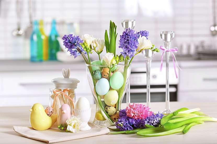 Pastelové Velikonoce