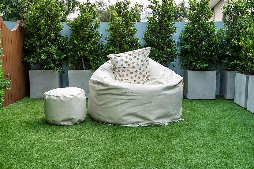 Travní koberec terasa