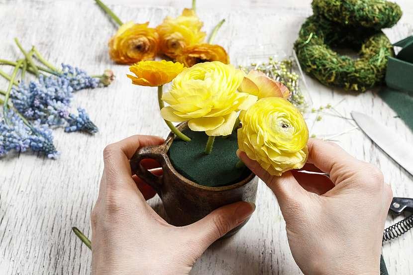 Zapíchání květin
