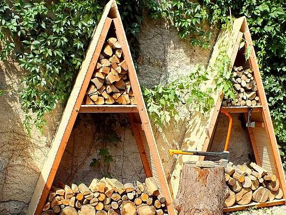 """Přístřešek na dřevo můžete vyrobit za jedno odpoledne (Zdroj: Pavel """"Kutil"""" Zeman)"""