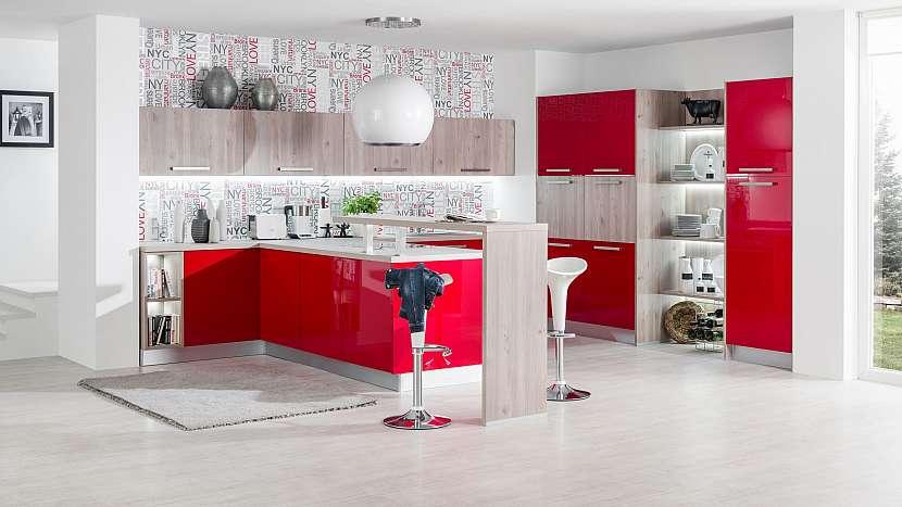Červená kuchyně