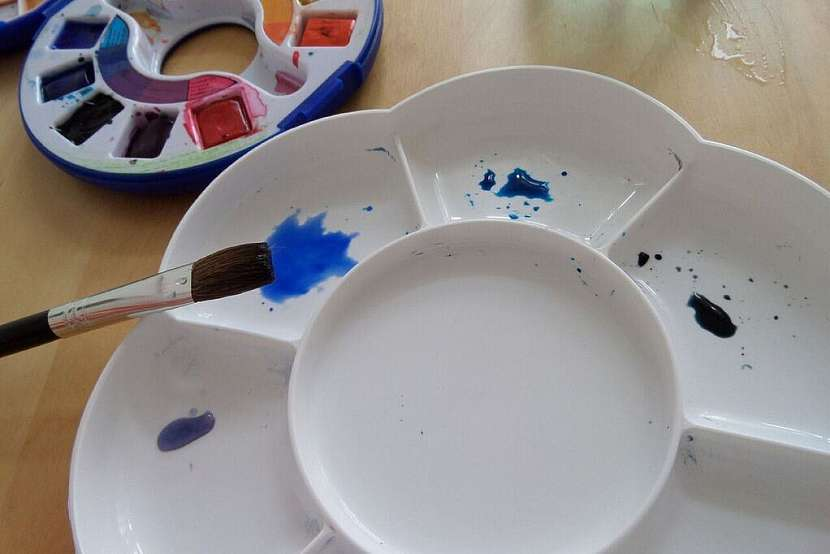 Jak vykouzlit diamant na papír: Namalujte si diamant akvarelem! 3