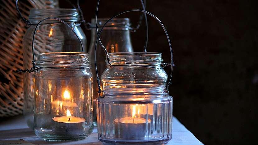 Tipy na recyklaci skla: svícny