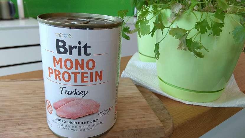 Jednodruhové krmivo Brit