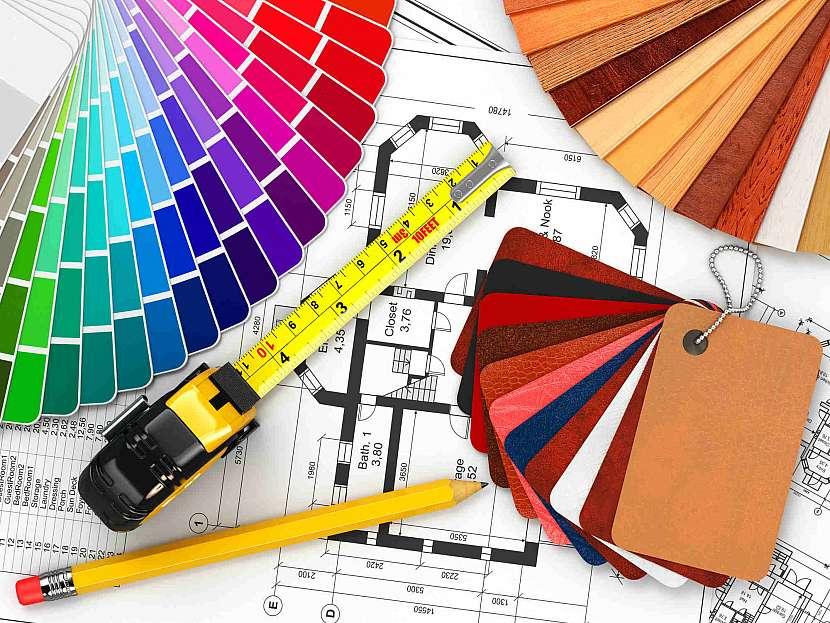Při vypracovávání návrhu je potřeba pracovat s barevnými paletami
