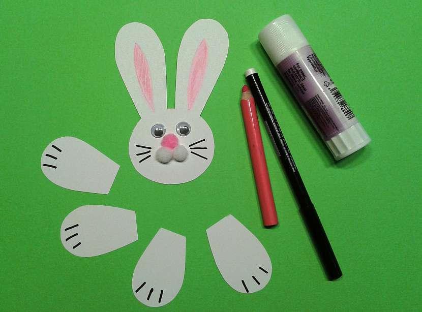 Velikonoční vítací zajíc: dejte mu tvář