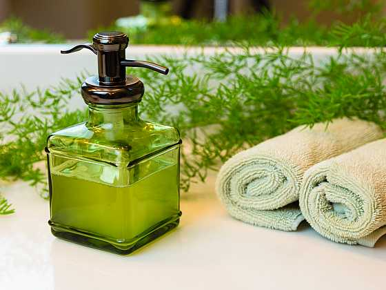 Pěnové mýdlo je efektivním prostředkem k mytí rukou. K umytí vám stačí pětkrát menší dávka než běžně používaného tekutého mýdla (Zdroj: Adriana Dosedělová)