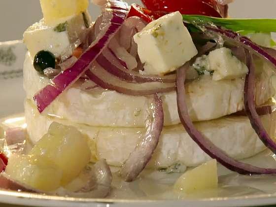 Ze tří druhů sýrů si můžete připravit báječný sýrový trojboj (Zdroj: Prima DOMA MEDIA)