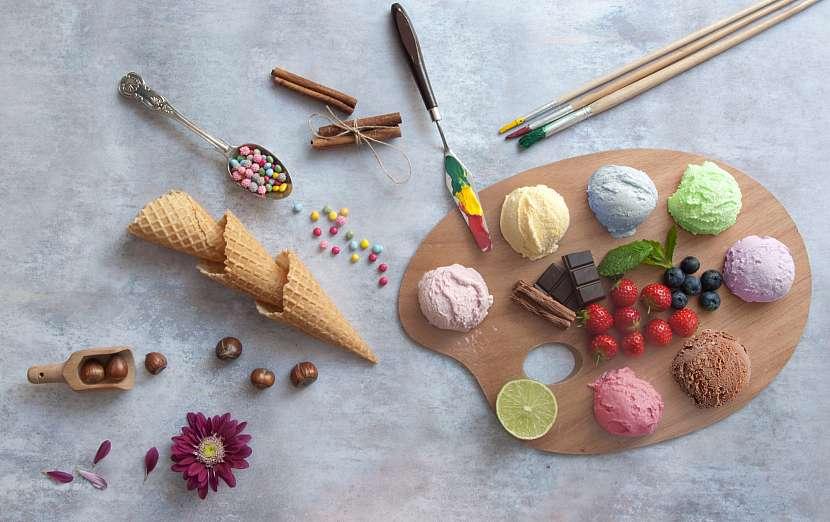 Zmrzlinová paleta