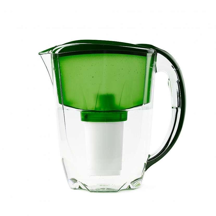 Zelená konvice