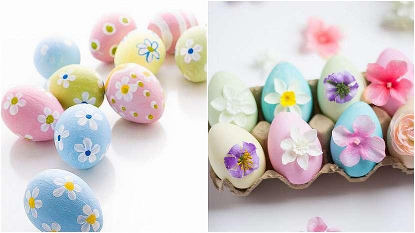 Velikonoce vpastelových barvách: květy jara
