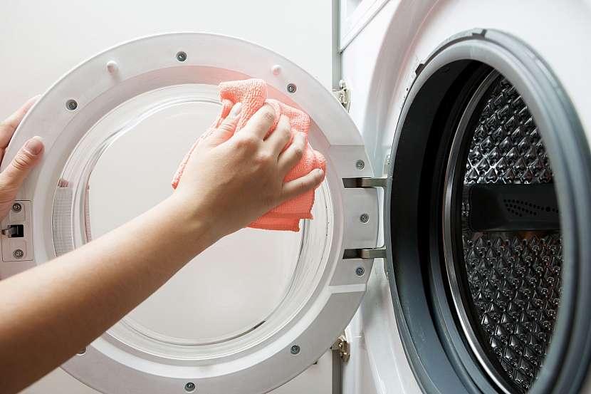 Čistění pračky