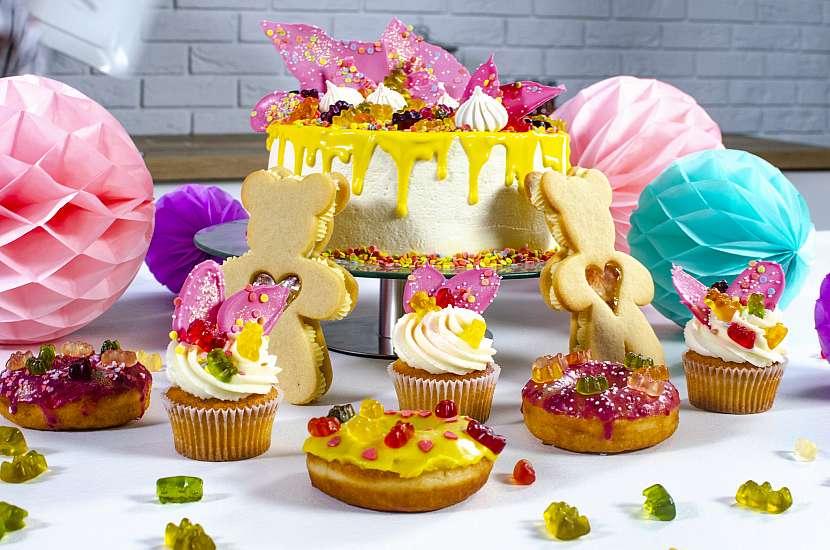 Medvídci se používají kdochucení a dozdobení nejrůznějších receptů, např. zmrzlinových nanuků, cupcaků, sušenek, dortů, ale také nápojů