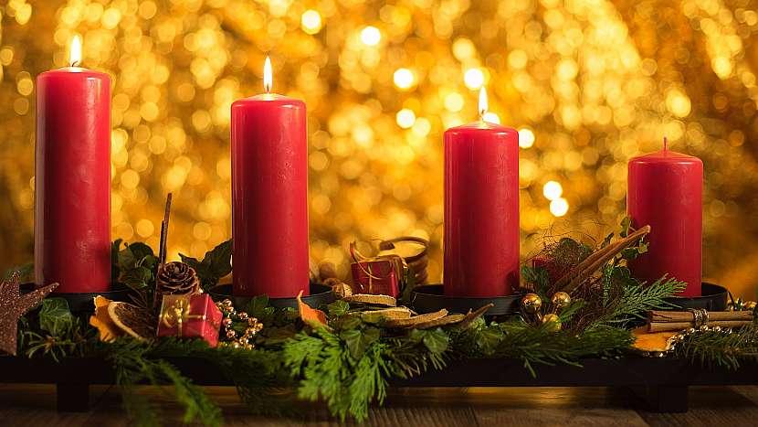 Průvodce třetím týdnem adventu: už hoří tři svíčky na adventním věnci