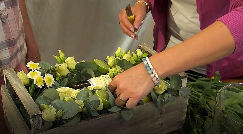 Květinový box jako netradiční dárek