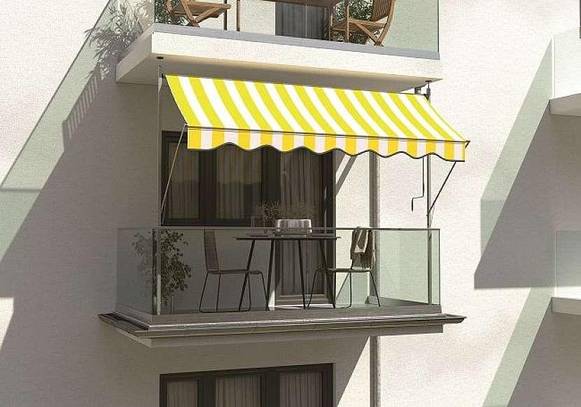 zastínění balkónu