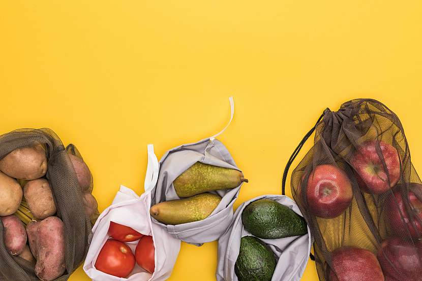 Ovoce, pytlíky