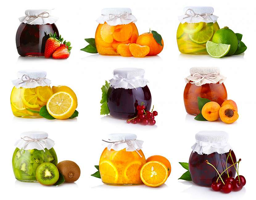 Džemy z českého i exotického ovoce
