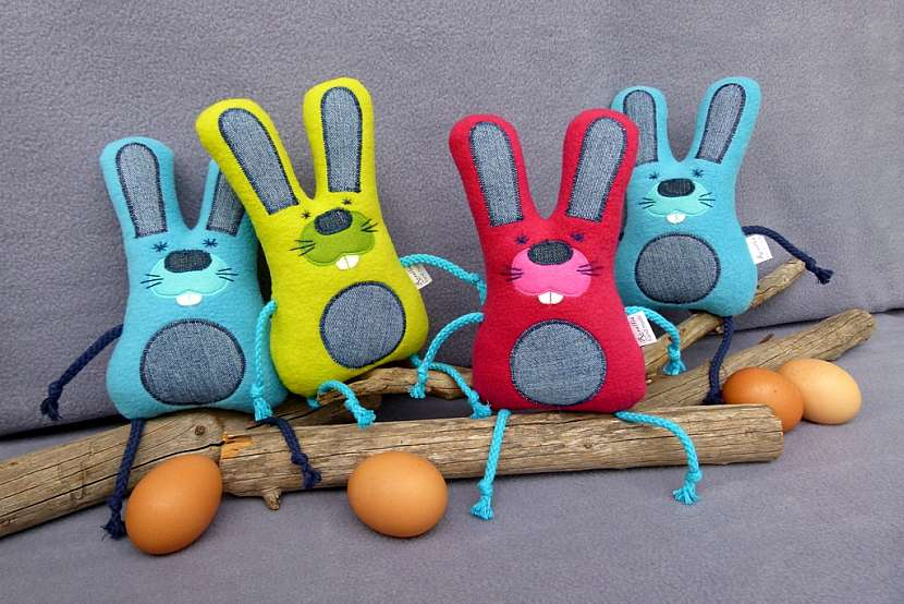 Velikonoční zajíc pro nejmenší koledníky