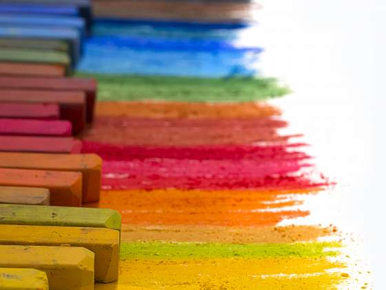 Kresba suchými pastely je jednoduchá, avšak efektní (Zdroj: Depositphotos (https://cz.depositphotos.com))