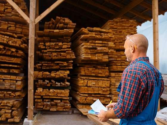 Kvalita kupovaného dřeva rozhodne o konečné ceně. Nebojte se chtít slevu (Zdroj: Depositphotos (https://cz.depositphotos.com))